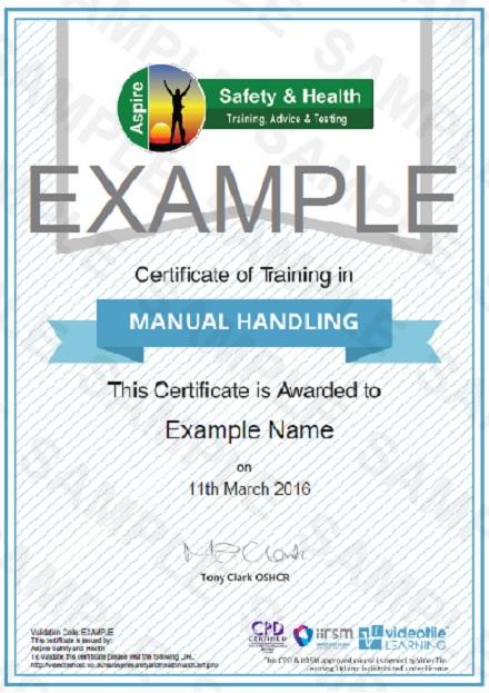 Online Manual Handling Training | Risk Assessment Training